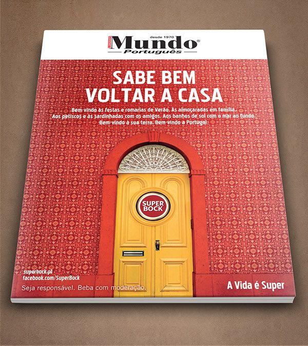 Super Bock - Imprensas Revista Mundo Português on Behance