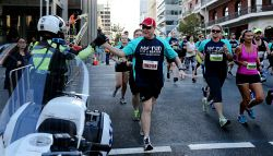 TWA-0045134 © WestPix Participants in this year's HBF Run For A Reason in Perth today, Sun'. PICTURE: NIC ELLIS   THE WEST AUSTRALIAN