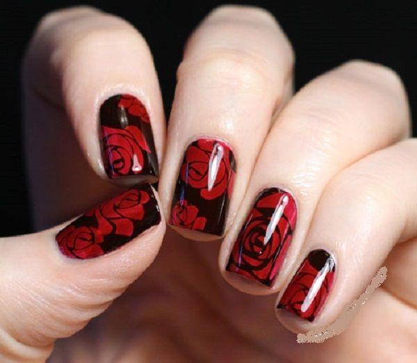 #nailart #nailstamping