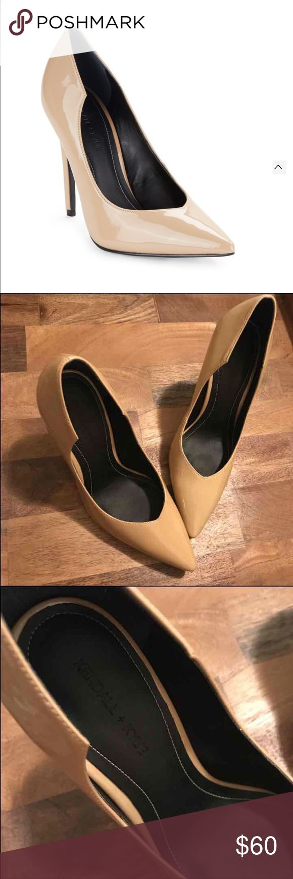 Kendall and Kylie Nude Pumps New without box, size 7.5, patent leather Kendall & Kylie Shoes Heels