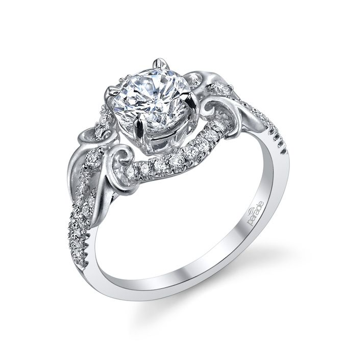 Ring Settings: Unique Engagement Ring Settings Round