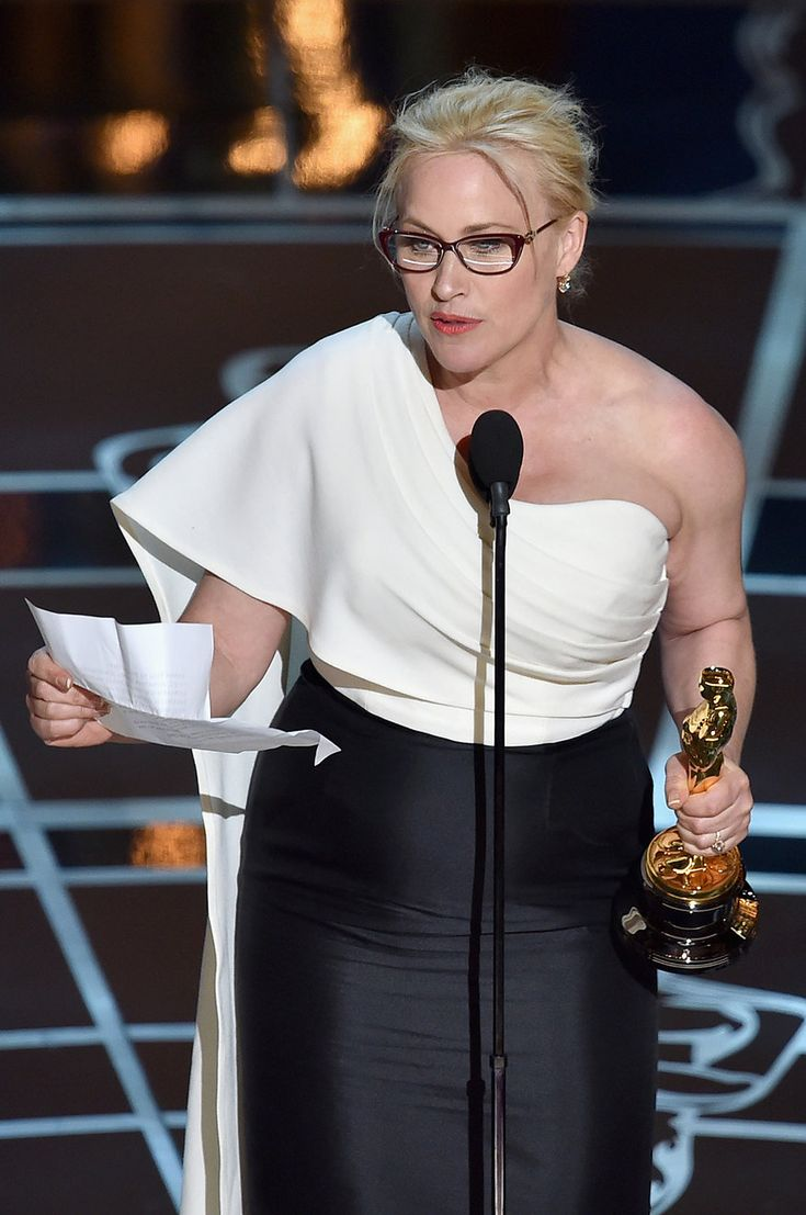 When Patricia Arquette started out her acceptance speech for Best Supporting Actress, it was all fairly standard. But then . . .