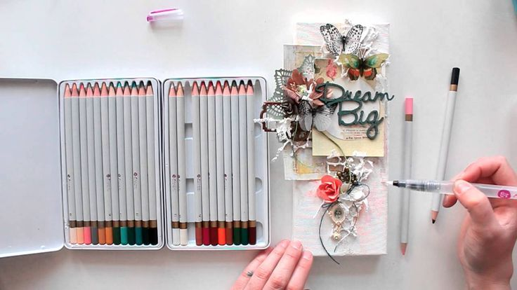 Finnabair CT   canvas Dream Big tutorial