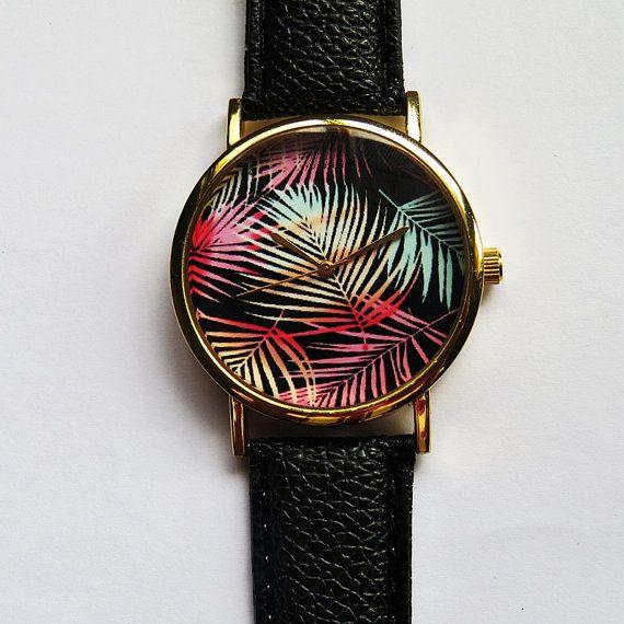 Palmier Tropical ombre laisse regarder Style Vintage par FreeForme