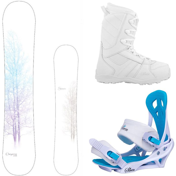 New 2015 Siren Cheyenne Women's Snowboard Package + Mystic Bindings + Lux Boots in Snowboards | eBay