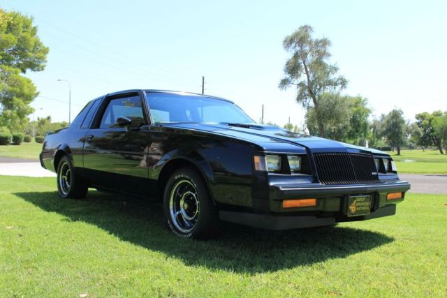 1987 Buick Grand National, T Top Turbo Click to Find out more - http://fastmusclecar.com/muscle-cars/1987-buick-grand-national-t-top-turbo/ COMMENT.