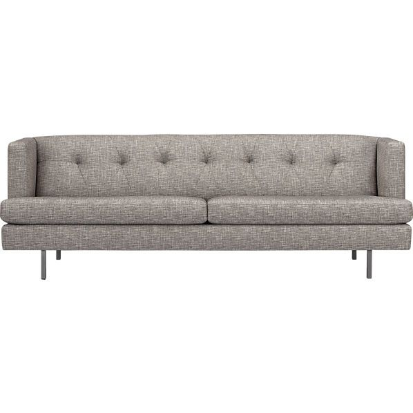 The Avec Tweed Sofa offers great seating and takes up minimal room. Great for small apartments!: Avec Tweed, Modern Furniture, Living Rooms, Avec Sofas, Home Accessories, Avec Carbon, Carbon Sofas, Tweed Sofas, 50S Sofas