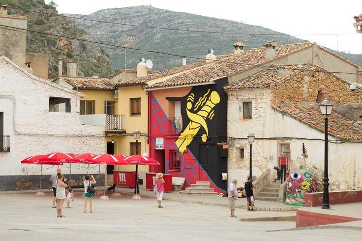 El Rey de la Ruina in Fanzara, Valenciana, Spain, 2015