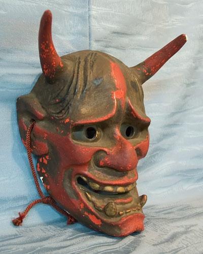 Japanese Noh Mask - Bing Images