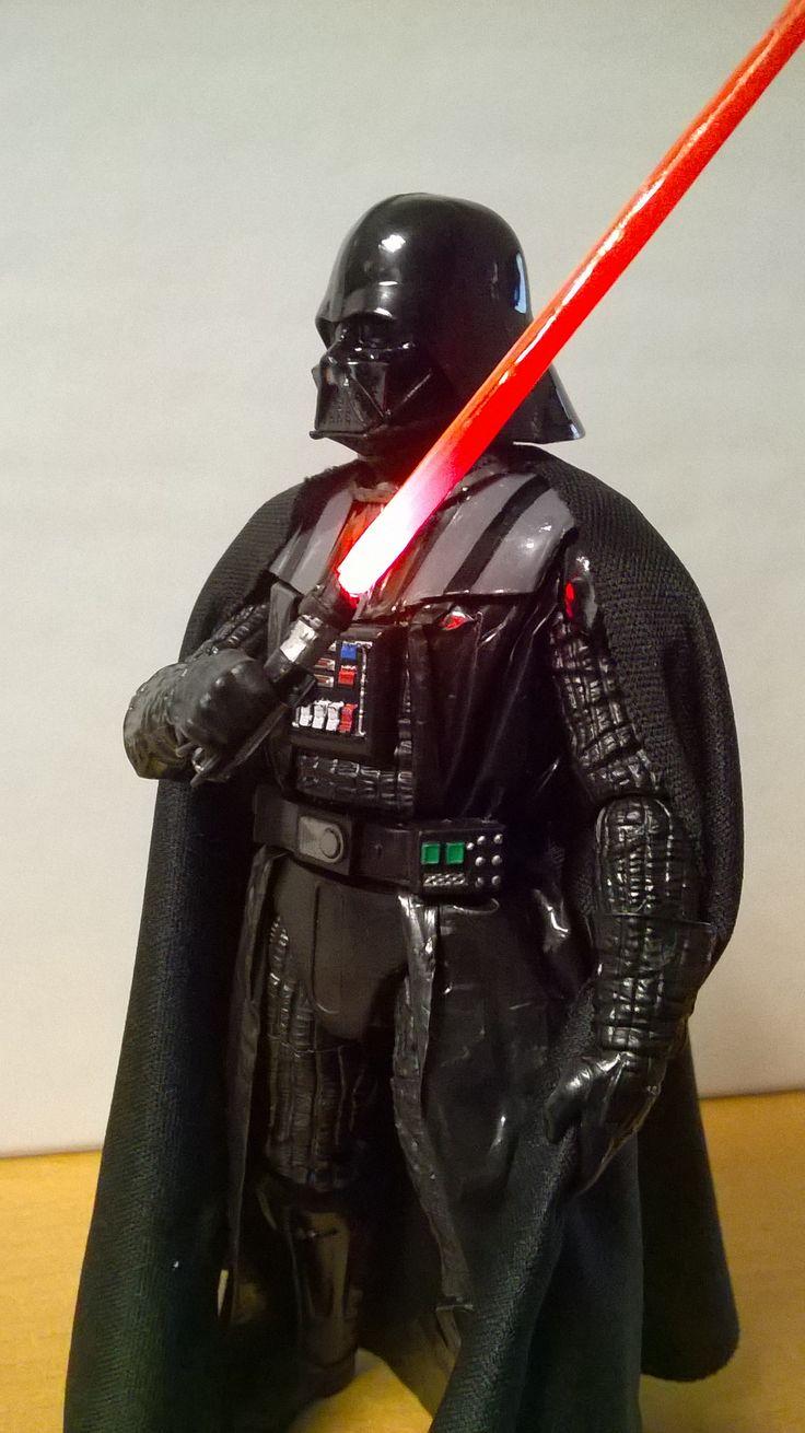 Darth Vader Black Series Custom 01
