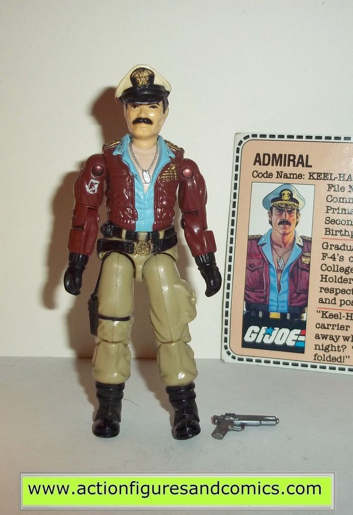 Toys From Hasbro : Gi joe keel haul hasbro toys vintage action figures
