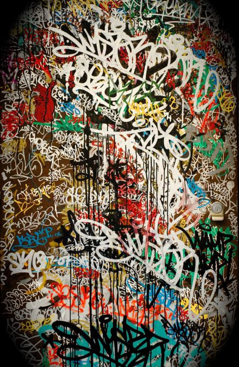 Tagging- the original art of the streets.