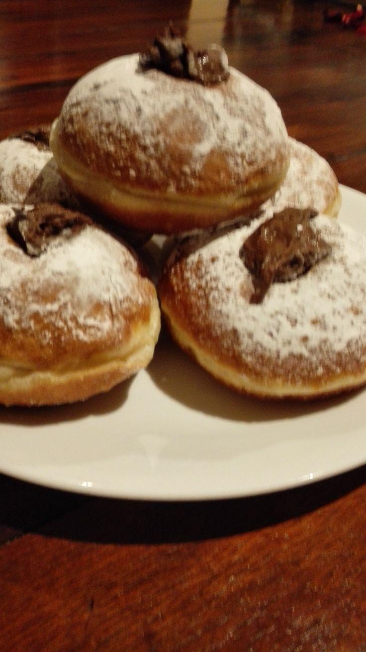 Yummy Nutella donuts!