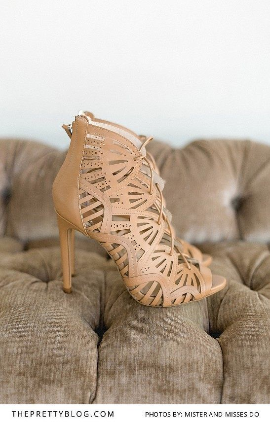 Leather heels with detailed cut outs | Photograph by Mister and Misses Do |
