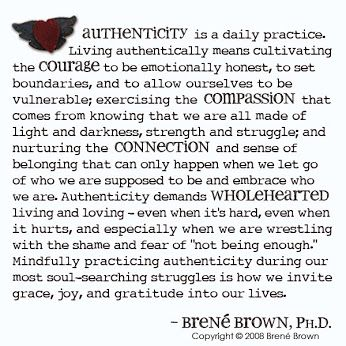 living a wholehearted life Brene brown suggests that our imperfections grant us three gifts: courage, compassion, and connection here's my review of the gifts of imperfection belonging and will help us cultivate our own wholehearted life living: a review of the gifts of imperfection by brené brown.