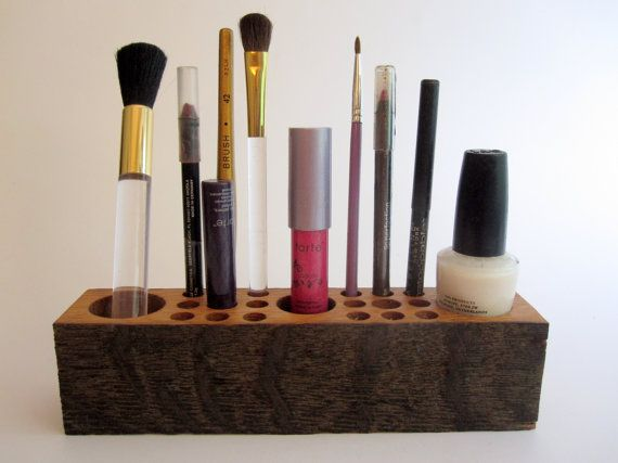 25 best ideas about wooden makeup organizer on pinterest. Black Bedroom Furniture Sets. Home Design Ideas