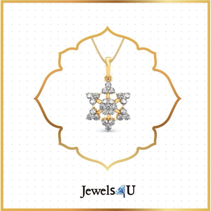 Shop for this intricate, beautiful pendant at jewels4u.in