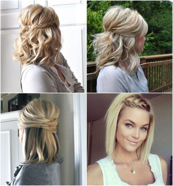 Frisur Long Bob 4 Frisur Longbob In 2020 Short Hair Updo Long Bob Hairstyles Short Hair Styles