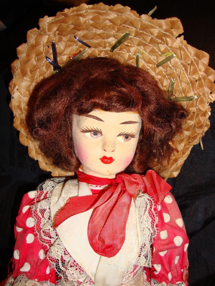 italian vintage doll