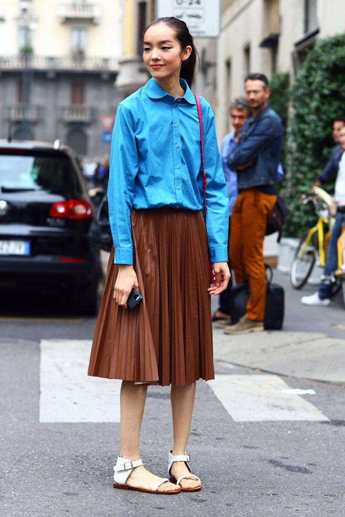 thestreethunter:  (via Fei Fei Sun in Milan | Street Fashion | Street Peeper | Global Street Fashion and Street Style)