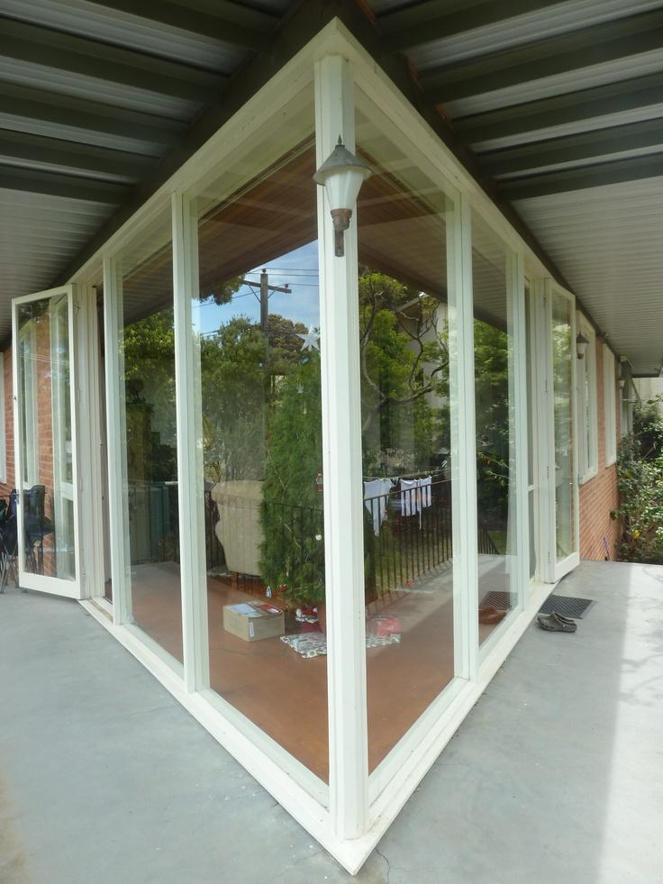 Existing conditions - arrowhead verandah. Secret Design Studio, Melbourne.  www.secretdesignstudio.com