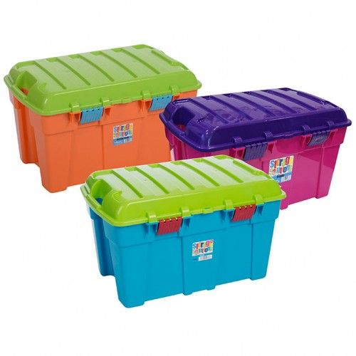 Colourful Toy Trunk | Plastic Toy Trunks