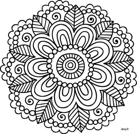 742 best mandala images on Pinterest Coloring books, Coloring