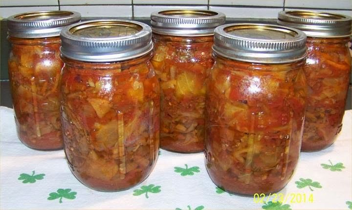 Canning Homemade!: Unstuffed Cabbage Rolls  (This is like the stuffed cabbage soup I canned; I will try this recipe, but will leave out the mushrooms (yuk); I knew you could can this safely, even tho most people said you couldn't)