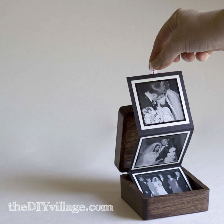 Pop-Up Photo Box (Gift Idea)