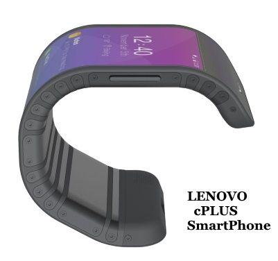 New #Lenovo #cPlus #flexible #Concept #Smartphone