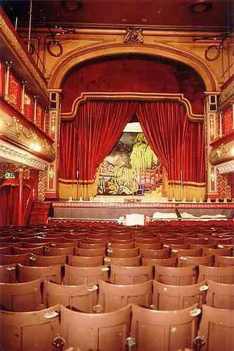Leeds city variety music hall - it's had a modern refurb, but still has bags of atmospheric Victorian character.