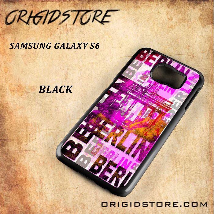 Berlin Snap On Samsung Galaxy S6 Case 3D Samsung Galaxy S6 Case Transparent Case