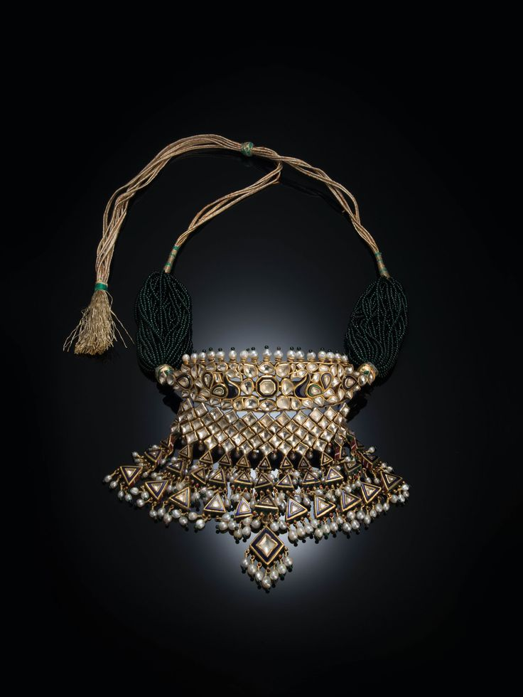 """""""India: Jewels that Enchanted the World"""" - Gold Necklace"""