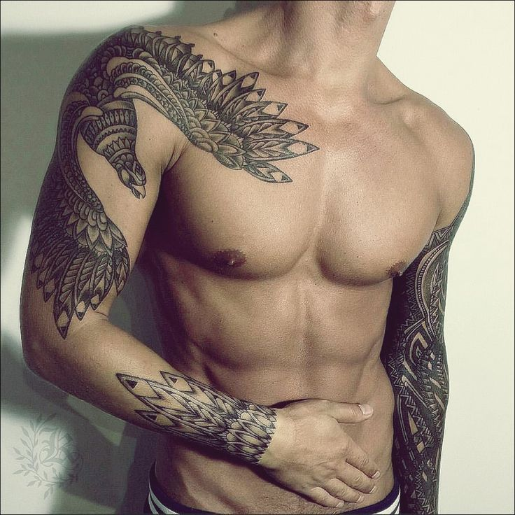 Sleeve Tattoos Mens Arm Tattoo Ideas Tribal Tattoos For Men Tattoo Sleeve Men Tribal Bird Tattoos