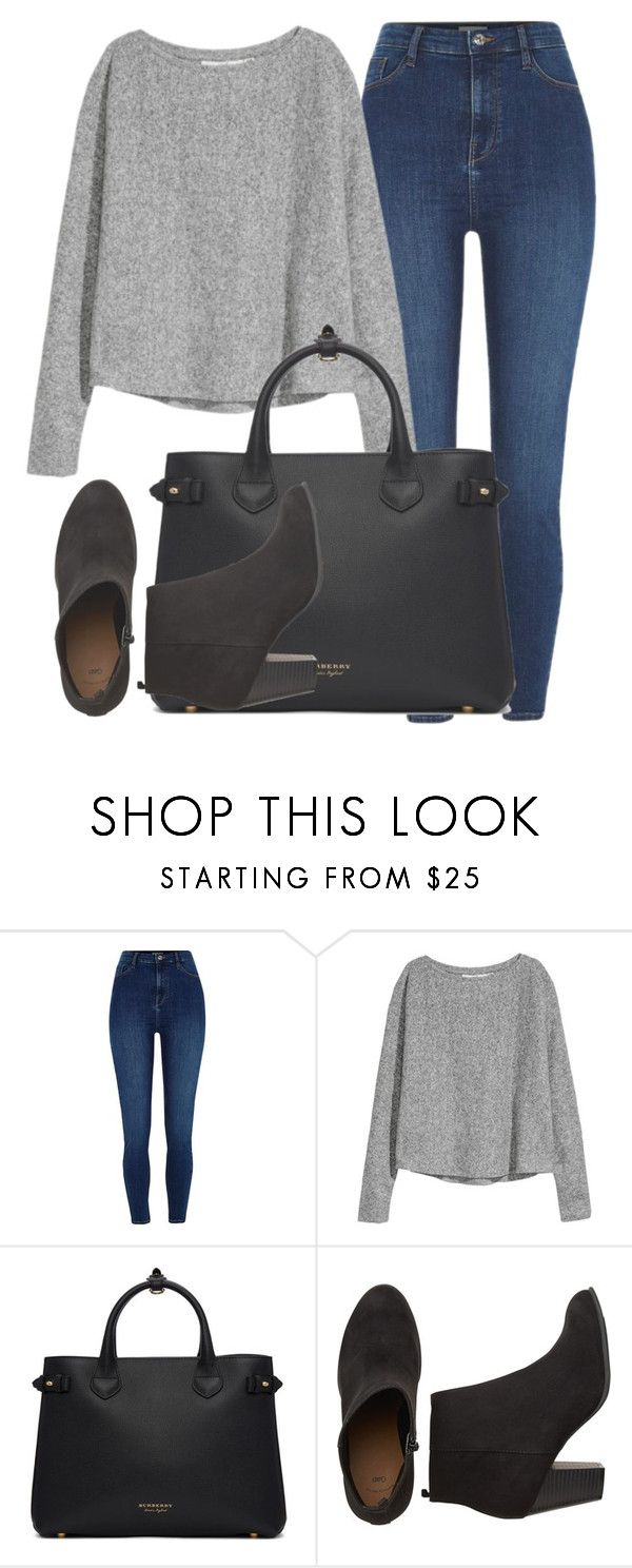 """Outfit #1996"" by lauraandrade98 on Polyvore featuring moda, River Island y Burberry"