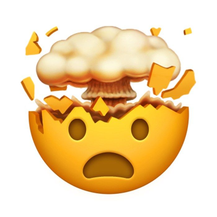 mind blown!   Emoji backgrounds, Emoji stickers, Emoji pictures