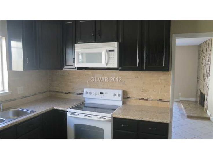 kitchens with white appliances espresso cuppboards   ... have will be a rental, and I plan on using white appliances