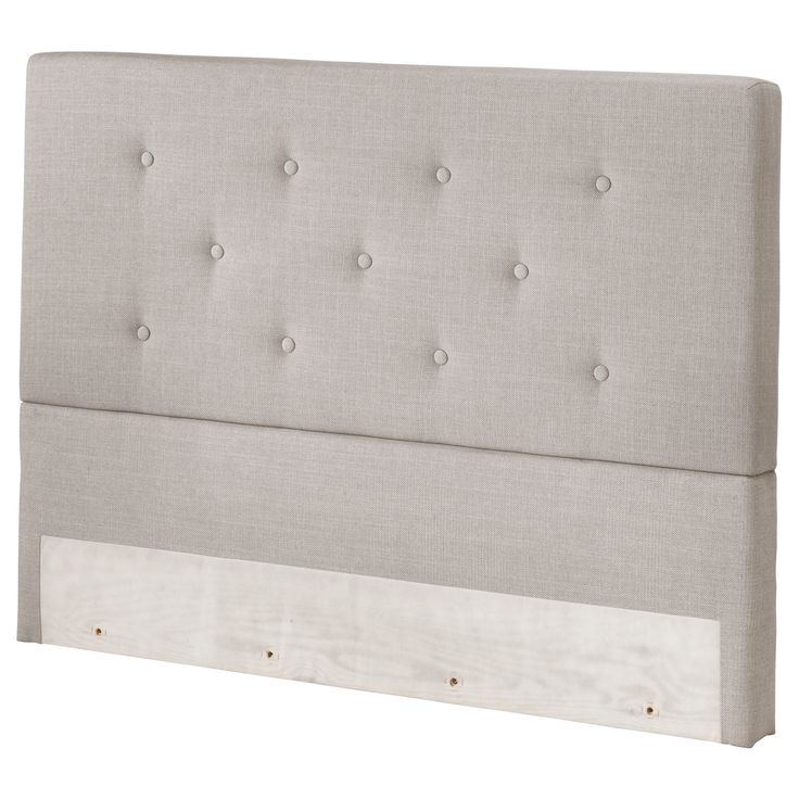 BEKKESTUA Headboard - King - IKEA feels good, firm. king mattress 900, plus box spring and legs.