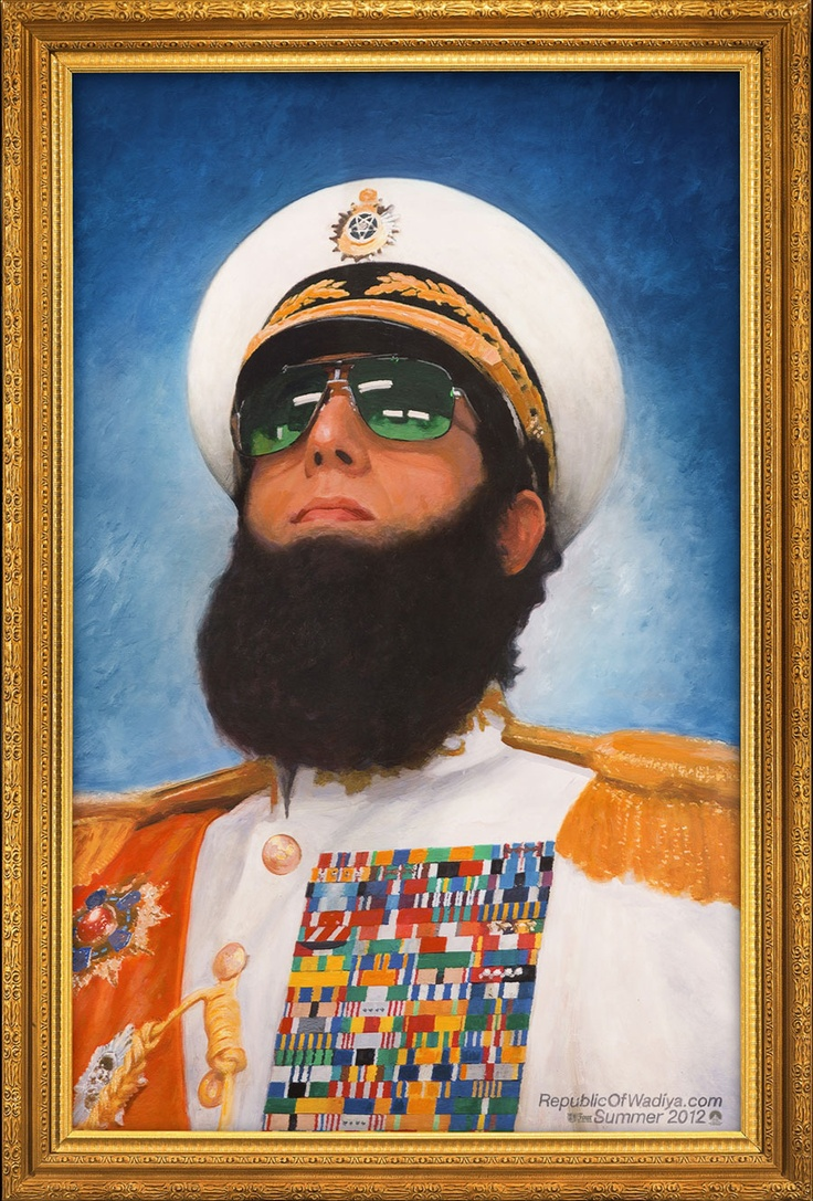 Sacha Baron Cohen as The Dictator: Love him or hate him?