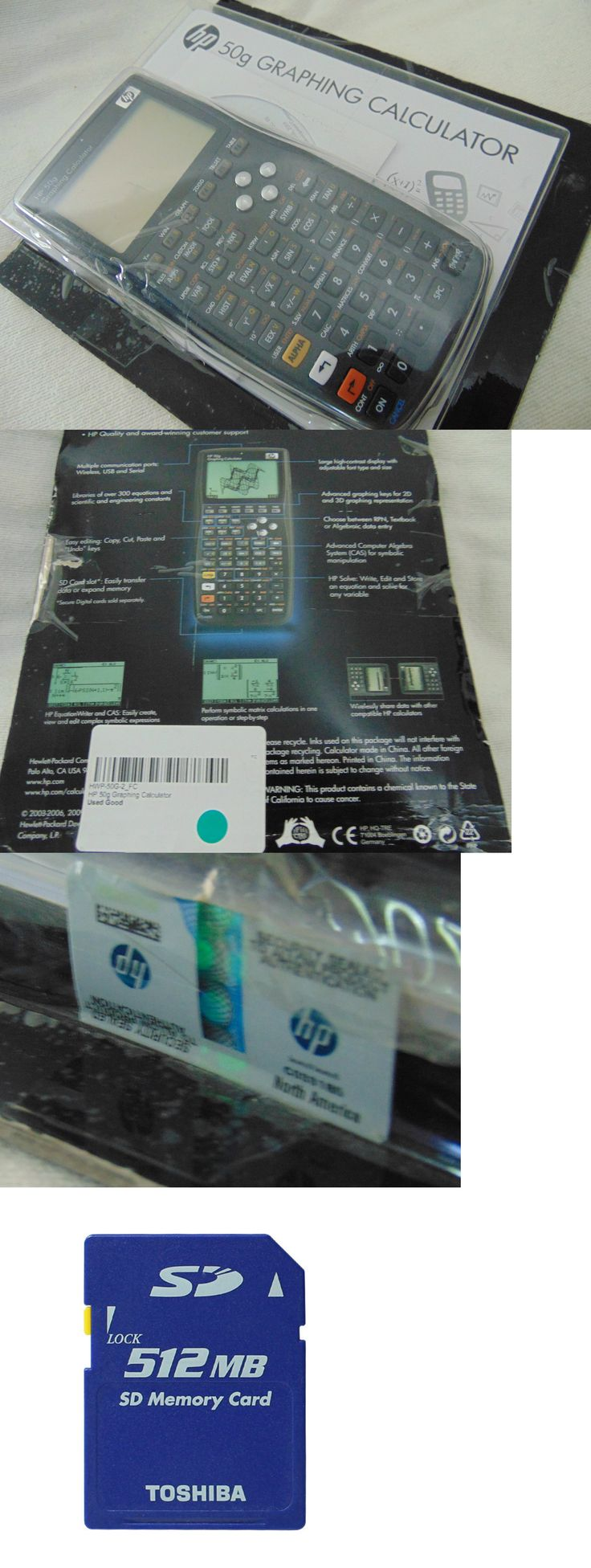 Calculators: Hewlett Packard Hp 50G Graphing Calculator -> BUY IT NOW ONLY: $259 on eBay!