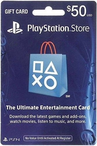 50 PlayStation Store Gift Card, Sony, [Physically Shipped