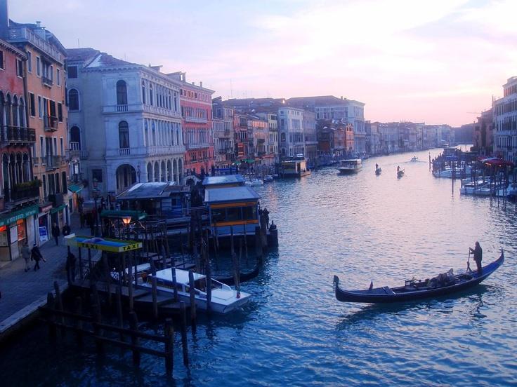 An impressionist canvas: Venice, Canal Grande