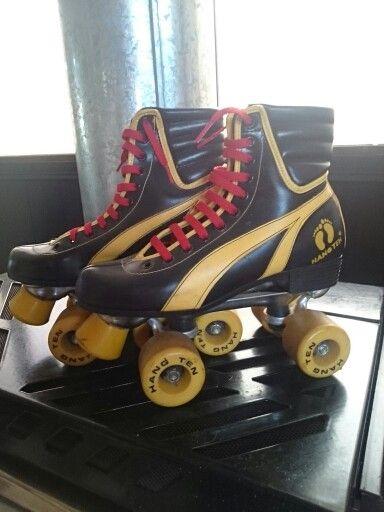 Decorative roller skates