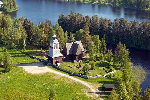 Petäjäveden vanha kirkko / Petäjävesi old church