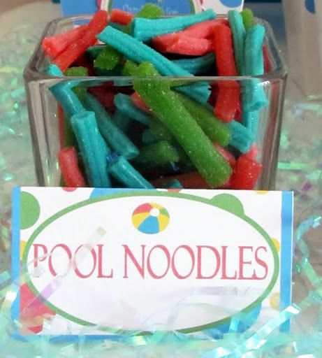 Pool Noodles (Sour Straws)