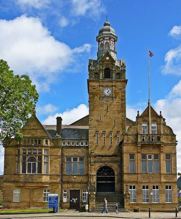 Cleckheaton Town Hall Yorkshire