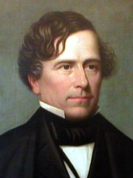 Franklin Pierce, 14th President (1853-1857) known as the worst president of the united states. 1804-1869