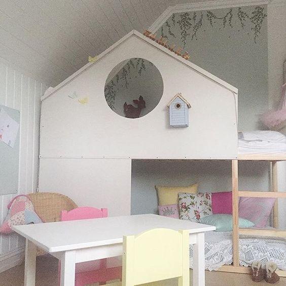 63 besten kura bett ikea bilder auf pinterest spielzimmer etagenbetten und schlafzimmer ideen. Black Bedroom Furniture Sets. Home Design Ideas