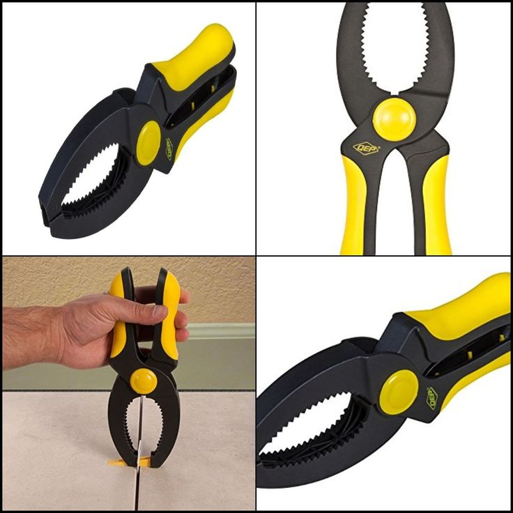 New LASH Tile Leveling, Aligning and Spacer Leveling System Pliers Indoor Black #QEP