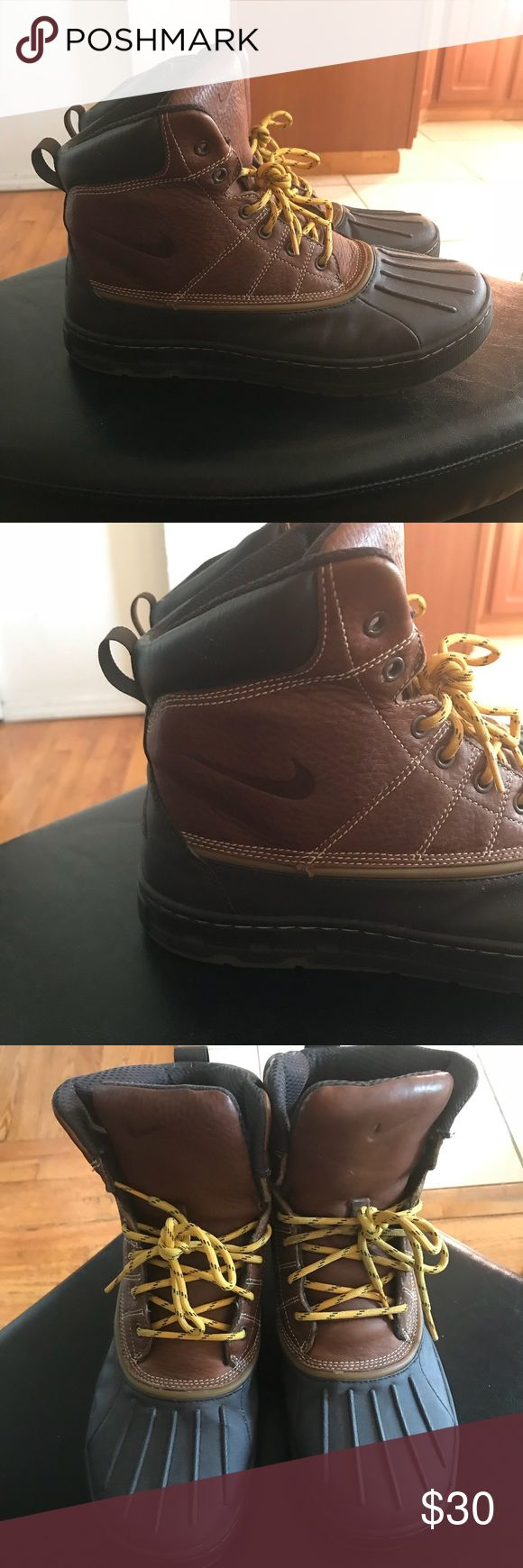 Mens brown winter snowboots Mens brown winter snowboots Nike Shoes Rain & Snow Boots